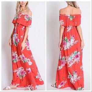 The Abigail Sweet Floral Maxi Dress
